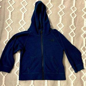 North Face Sweatshirt Navy Blue 3T